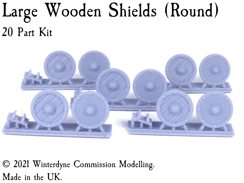 Kings of War 28mm 32mm Kite Suits Warhammer Age of Sigmar Wooden Shields